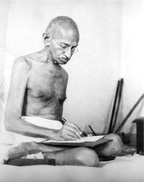 Gandhi_writing_1942[1]
